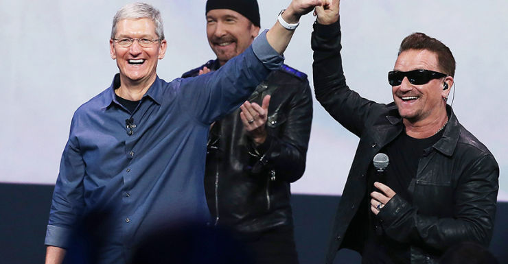 U2 Apple - Getty