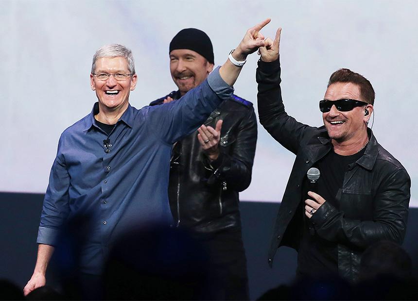 U2 Apple - Getty