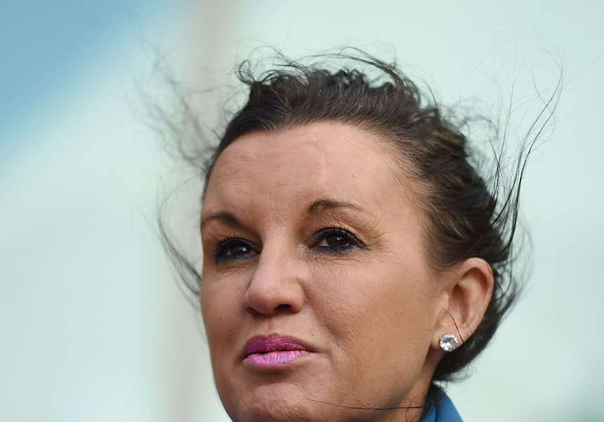 """Lambie has expressed strong views on the """"evil"""" of sharia law."""