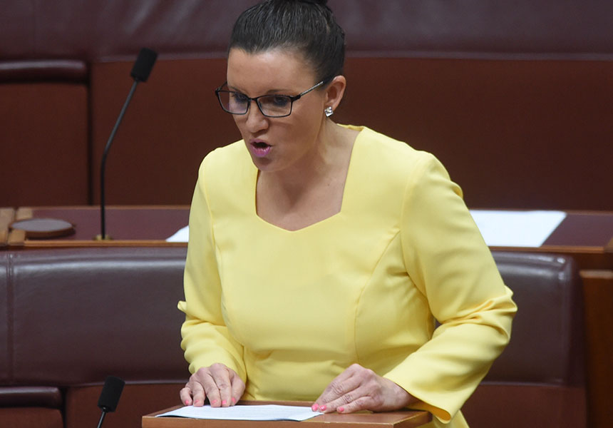 Senator Jacqui Lambie suggests taxing the 'super-rich' to pay for the poor.