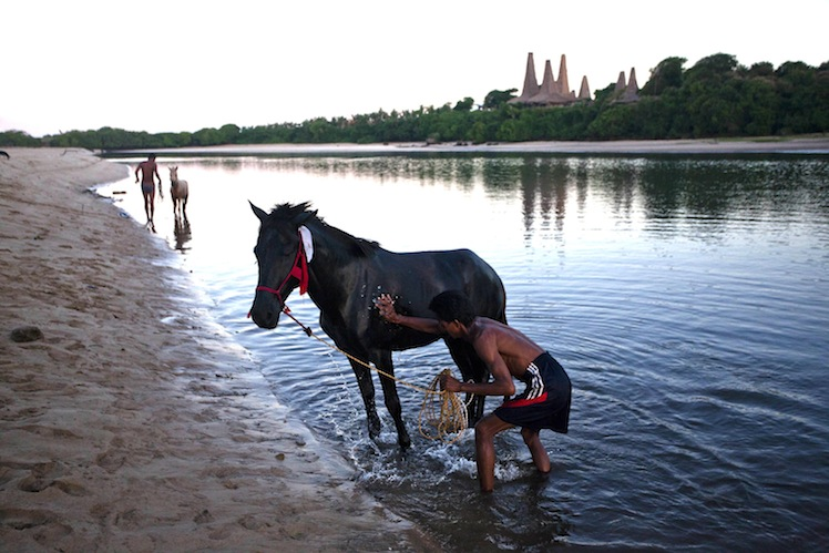 Locals on the island of Sumba. Photo: Getty