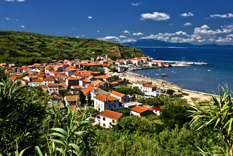 The tiny village on Susak Island. Photo: Shutterstock