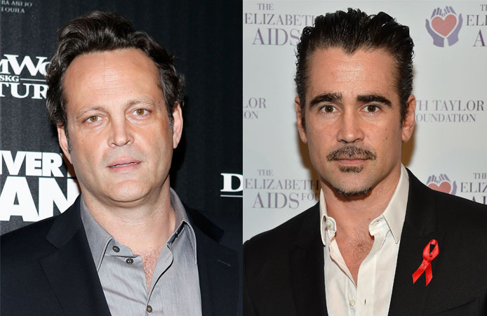 Vince Vaughn (left) and Colin Farrell are True Detective's newest stars.