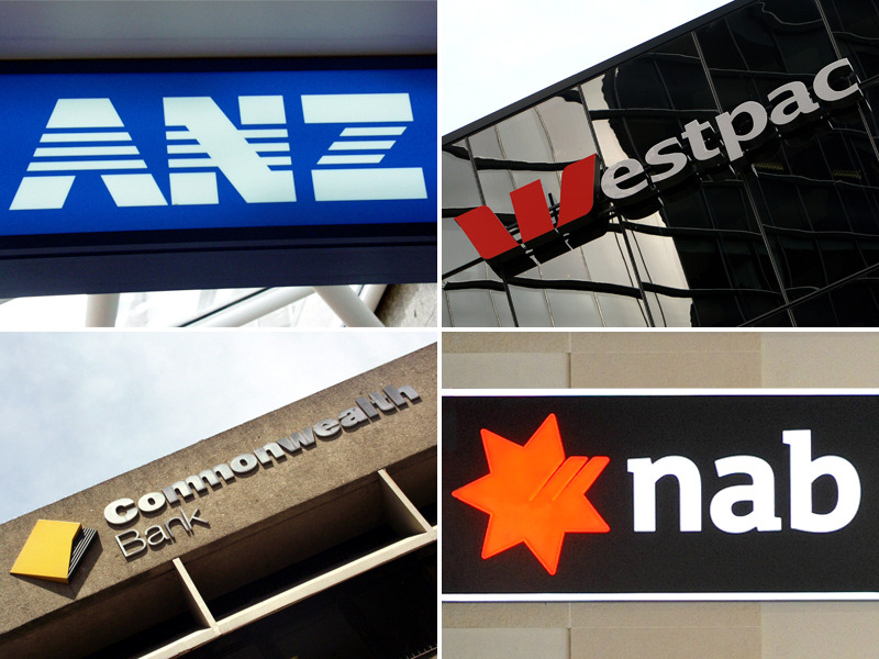 The big four banks dominate the sharemarket, meaning super funds just can't avoid owning them.