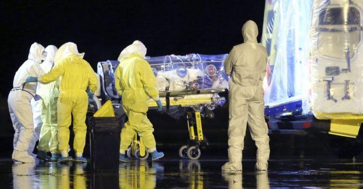 Ebola patient AAP