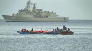 While the number of people smugglers attempting to reach Australia have decreased, Lieutenant General Angus Campbell warns they will return.