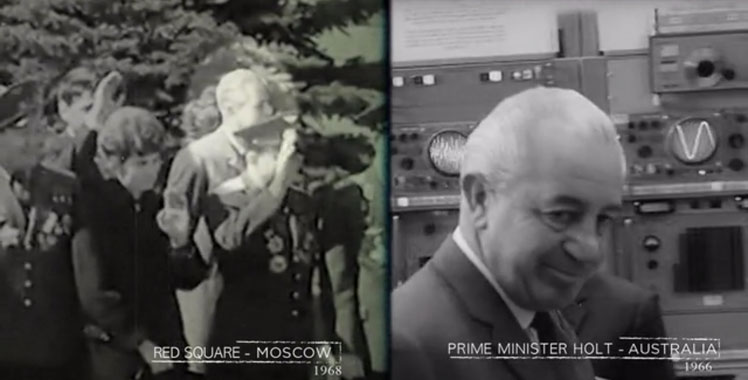 Harold Holt in Moscow