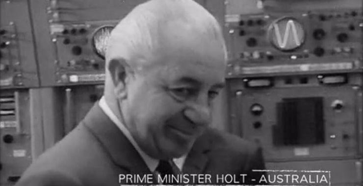 Harold Holt in 1966