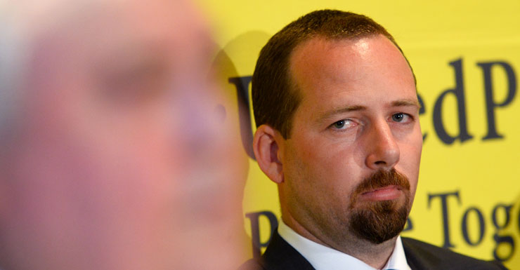 Australian Motoring Enthusiast Party senator Ricky Muir