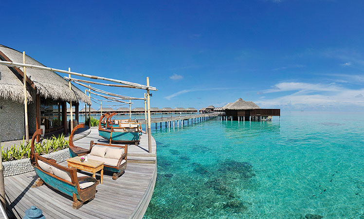 Overwater Bungalows In Malaysia Part - 21: Located Along A Pristine Reef Within The Southern Rim Of The Gaafa Dhaalu  Atoll, This Self-styled U0027seven-staru0027 Property Is One Of The New Kid On The  Block, ...