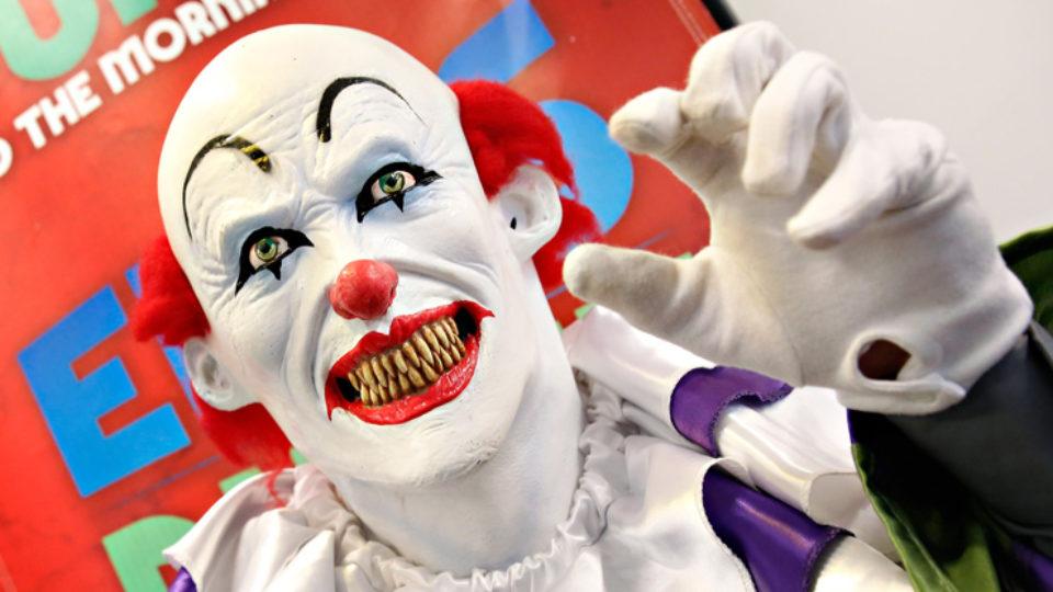 clown army France terror evil