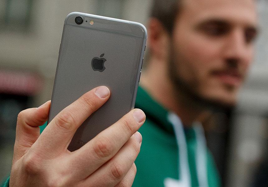 Apple iPhone 6 plus hairgate bendgate