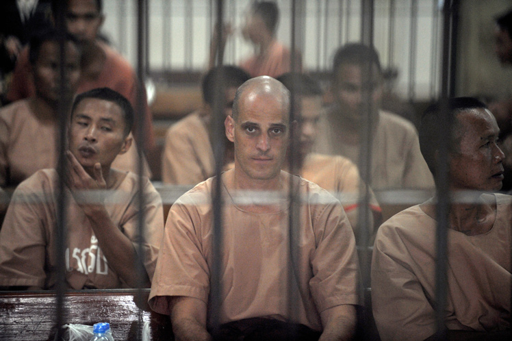 writer Harry Nicolaides jail time Thailand