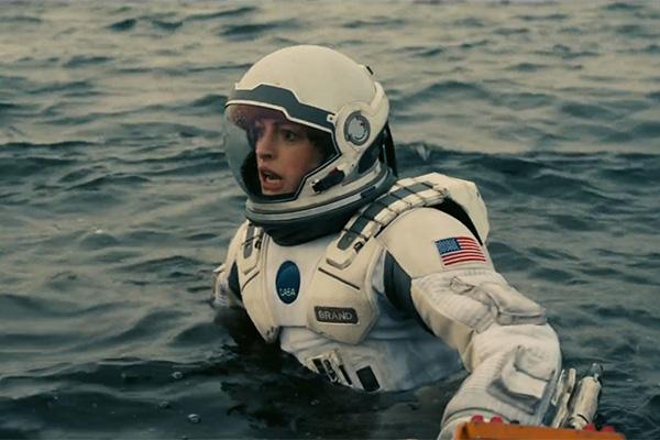 Anne Hathaway is astronaut Amelia Brand. Photo: Supplied