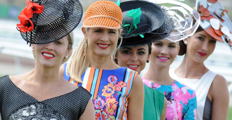 Melbourne Cup women fashion 2013