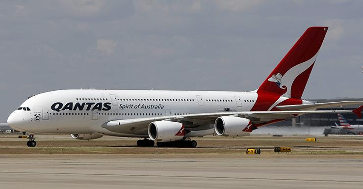 Qantas, Airbus A380, AAP