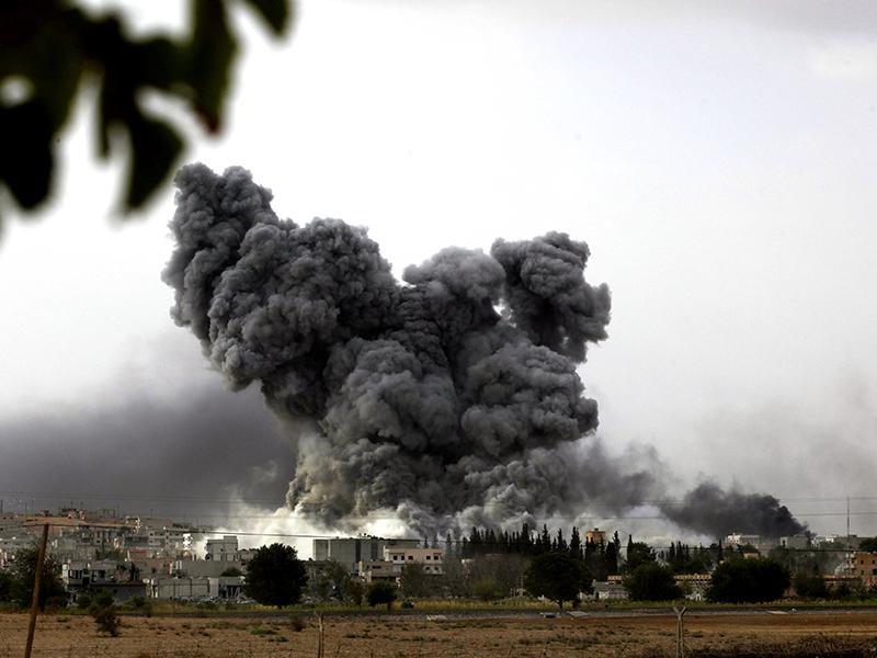 Getty, Kobane, ISIL, Islamic State