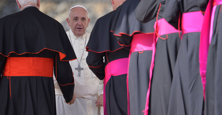 The Catholic Church has rapidly modernised under Pope Francis. Getty