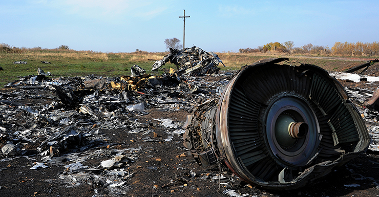 MH17 Russians attack