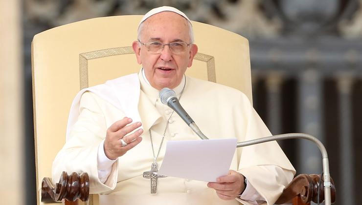 Pope Francis Big Bang theory Getty