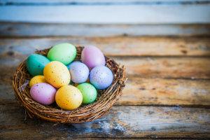 basket of eggs money