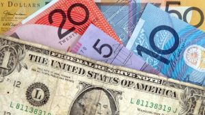 The US dollar is back on top, surging around two cents overnight against Australia's currency.