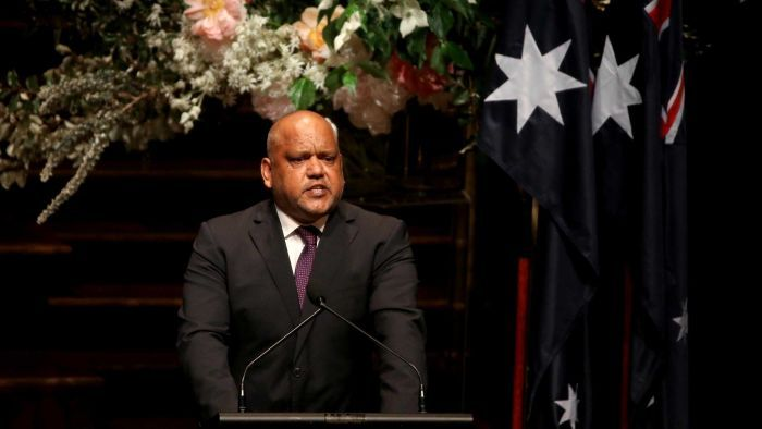 Mr Pearson delivered an eulogy at former prime minister Gough Whitlam's memorial service this week that drew national praise.
