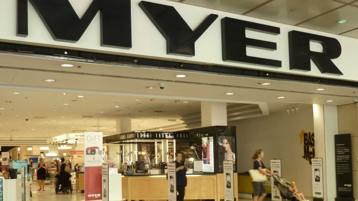 Myer said it is expecting a strong festive sales period.