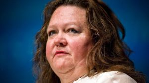 Gina Rinehart is a supporter of greater development in the north of Australia.