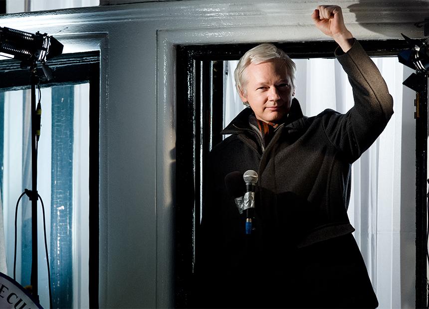 Julian Assange BBC Comedy