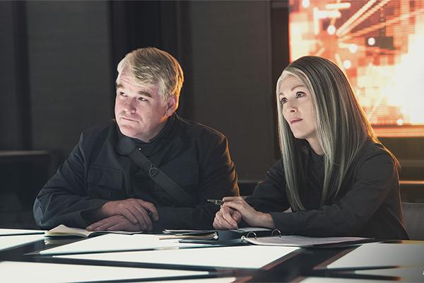 Phillip Seymour Hoffman and Julianne Moore