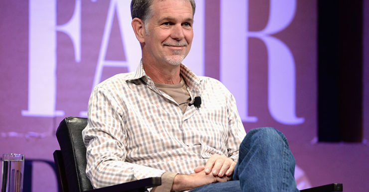 Reed-Hastings Netflix CEO