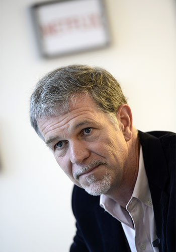Netflix founder and CEO Reed Hastings. Photo: Getty