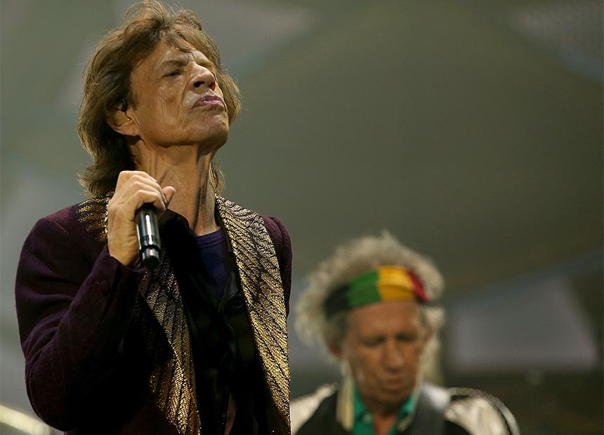 Mick Jagger Australian tour 2014