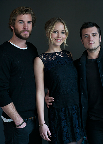 The Hunger Games lead cast