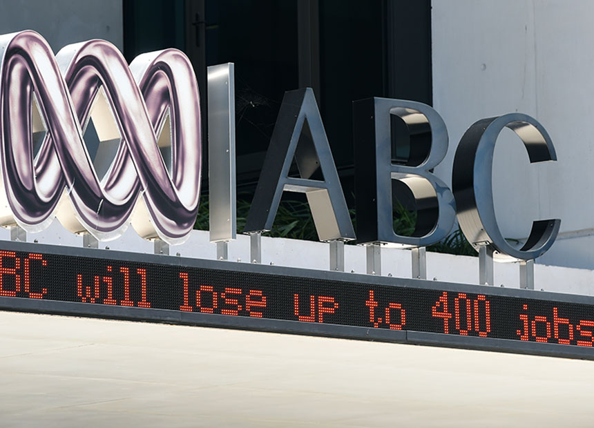 ABC cuts sign from AAP