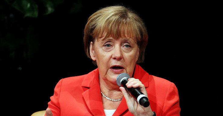 German Chancellor Angela Merkel Getty