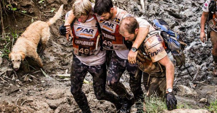 Photo: Facebook/Krister Göransson Arthur stray dog Ecuador Swedish Team Peak Performance.