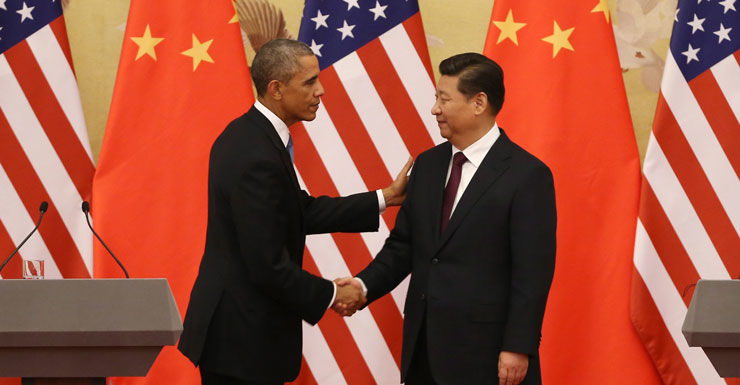 US President Barack Obama and Chinese President Xi Jinping