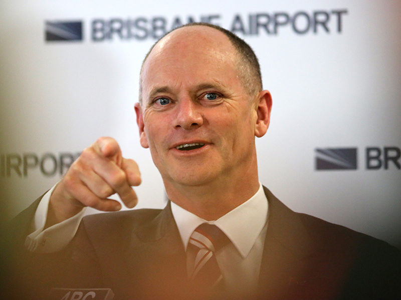 Queensland Premier Campbell Newman tours the G20 Operations Centre at Brisbane Airport. Monday, September 22, 2014. (AAP Image/David Kapernick) NO ARCHIVING