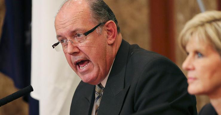 Defence Minister David Johnston