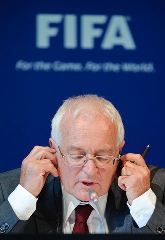 FIFA ethics committee chief Hans-Joachim Eckert is refusing to release the full report. Photo: Getty