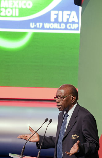 Jack Warner from Trinidad was the beneficiary of Bin Hamman's largesse. Photo: Getty