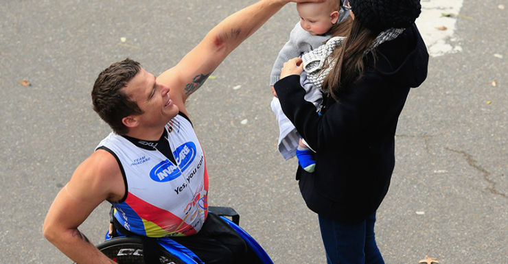 New York City Marathon Kurt Fearnley