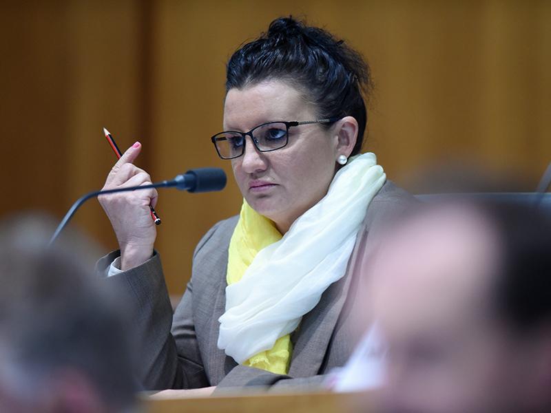 Senator Jacqui Lambie. (AAP Image/Lukas Coch) NO ARCHIVING