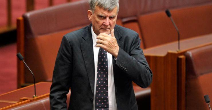 Liberal senator Bill Heffernan