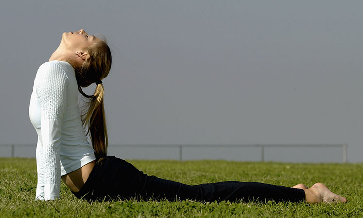 Flexibility exercises are beneficial.