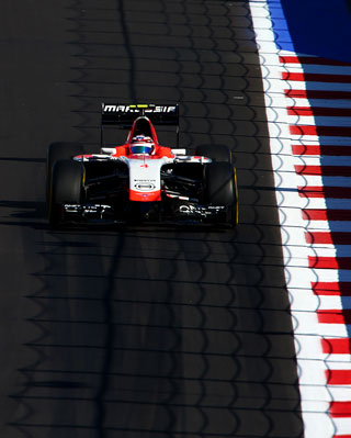 The Marussia team has gone into bankruptcy. Photo: Getty