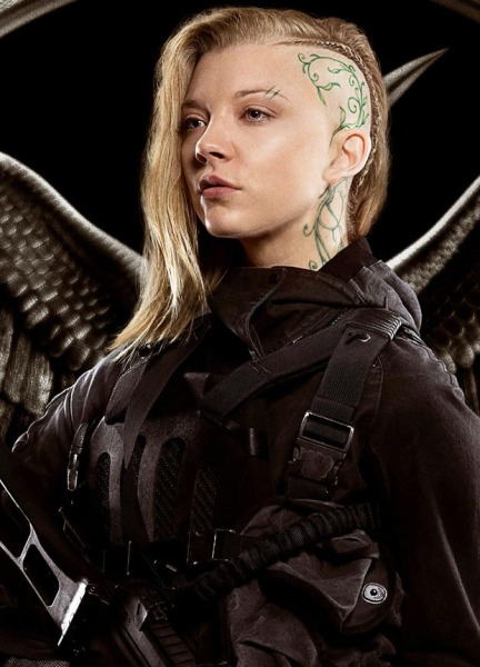 Natalie Dormer in her role as Cressida in 'The Hunger Games: Mockingjay – Part 1'.