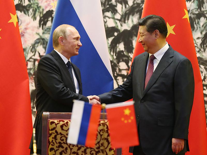 APEC Bilateral Meeting - China & Russia